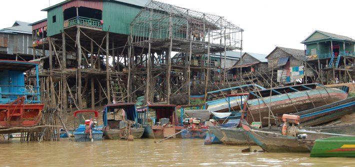 Viaje a Camboya. Pueblos flotantes